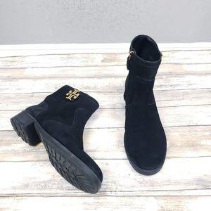 Tory Burch Eloise Flat Booties Size 10